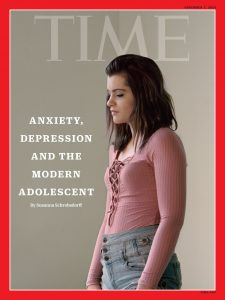 TIME article on increased rates of teen depression and anxiety